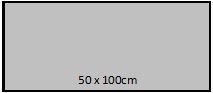 50 x 100cm